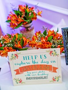 Fuchsia and orange themed Southern California wedding  |  The Frosted Petticoat