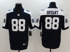 Nike Cowboys 88 Dez Bryant Navy Throwback Vapor Untouchable Player Limited Jersey