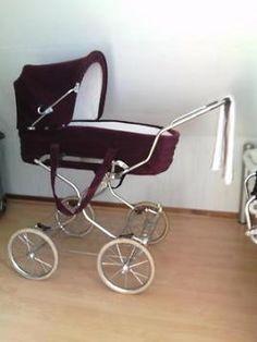 Nostalgische kinderwagen/wandelwagen Baby Boy Accessories, Vintage Pram, Baby Prams, Old And New, Baby Strollers, Dolls, Retro, Prince, Sun