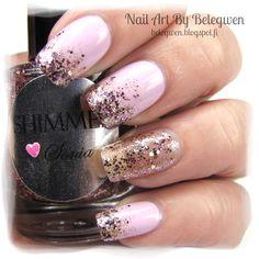 Nail Art by Belegwen: Shimmer Polish: Sonia