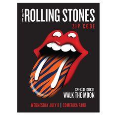 The Rolling Stones - ZIP Code Tour - Detroit - US