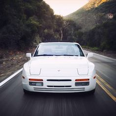 Porsche 944 Turbo... Absolutely stunning in White!