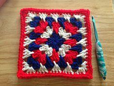 Granny Spike Stitch ~ free pattern ᛡ