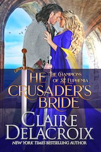 """Read """"The Crusader's Bride A Medieval Romance"""" by Claire Delacroix available from Rakuten Kobo. Gaston battled for duty and honor—until Ysmaine tempted him to fight for her love. When the Templar knight Gaston unex. New York Times, Great Books, New Books, New Wife, Knights Templar, Historical Romance, Romance Novels, The Life, Newlyweds"""