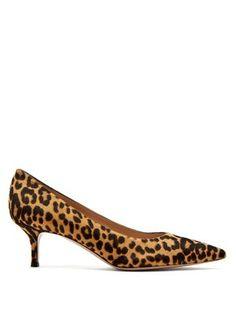 42f1384e269 Helsa leopard-print calf-hair kitten-heel pumps