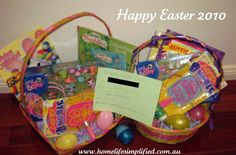 50 ideas to fill Easter baskets