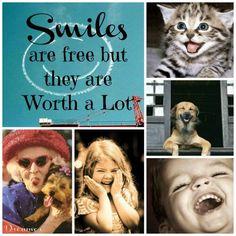 Smiles are free ツ ...:)