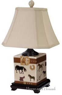 Hunt Club Table Lamp at Horse and Hound