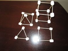 If you are studying 3-D shapes, a great way to integrate kinesthetic learning is with miniature marshmallows and toothpicks. I...