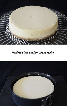 Cooker Cheesecake, Food For A Crowd, Drink Recipes, Vanilla Cake, Slow Cooker, Group, Board, Desserts, Easy