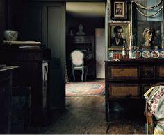 "Virginia Woolf's Charleston House. Photo by Annie Leibowitz from her book ""Pilgrimage"""