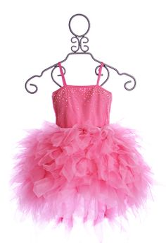 Ooh La La Couture Pink Girls Devin Dress $134.00