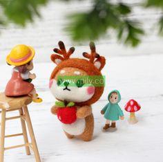 Where to buy Needle Felting Kits (4) Needle Felting Supplies, Starter Kit, Make It Yourself, Wool, Christmas Ornaments, Holiday Decor, Stuff To Buy, Christmas Jewelry, Christmas Decorations