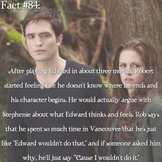 ~ I kinda want someone to remake Vampire Academy and actually follow the book and the descriptions of the characters. I hope they don't ruin Before I Fall. {#twilightsaga#stepheniemeyer#edwardcullen#robertpattinson#twifact84}