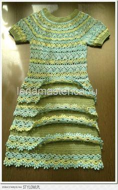 szydełko / sukienka