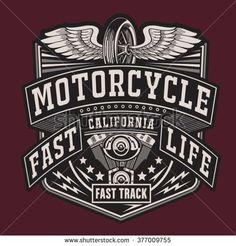 New motorcycle logo typography harley davidson Ideas Pink Motorcycle, Motorcycle Logo, Motorcycle Design, Vintage Labels, Vintage Posters, Badge Design, Logo Design, Harley Davidson Vintage, Banner