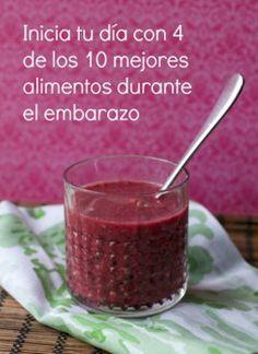 Batido ideal para desayunar en el embarazo - BabyCenter en Español
