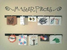Masterpieces vinyl wall art for your display wall by vinylexpress, $7.00