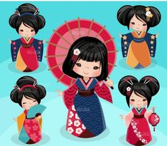 Terrific Cost-Free Japanese Embroidery kokeshi dolls Concepts Sashiko can be an application of Japanese folk embroidery using a variant of a working stitch to dev