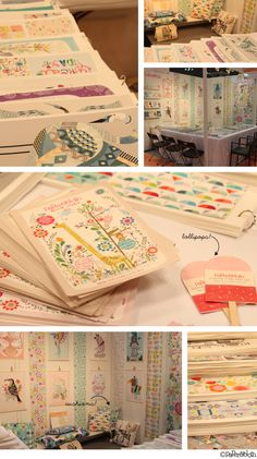 paperandcloth blog: A little peek at the PC goings on for Surtex 2014