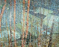 View The Architects Home In The Ravine by Peter Doig on artnet. Browse more artworks Peter Doig from Saatchi Gallery. Peter Doig, Takashi Murakami, Landscape Art, Landscape Paintings, Inspiration Artistique, Saatchi Gallery, Magic Realism, Art Moderne, Art Plastique