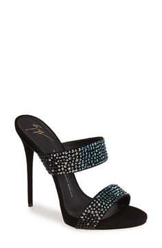 Giuseppe Zanotti Double Band Sandal (Women) available at #Nordstrom