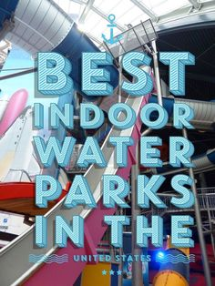 Planning your family vacation but worried about it getting rained out? Check out one of these best indoor water parks in the United States!