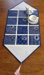 Advanced Embroidery Designs. Quilt projects with machine embroidery.