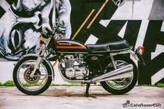 Honda CB 550 K3 - 1977 http://caferacercult.gr/classic/honda-cb-550-k3-1977.html  #honda #hondaclassic #caferacercult #vintagebike #hondacb