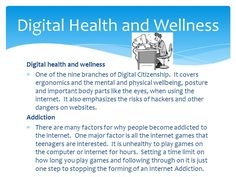 Digital Health and Well Being Mobile Technology, Digital Technology, Psychological Effects, Social Well Being, What Is Digital, Digital Citizenship, Health And Wellbeing, Physics, Psychology