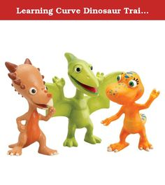 Learning Curve Dinosaur Train Collectible Dinosaur 3 Pack - My Friends Have Beaks And Bills: Don, Spikey And Annie. Based on the new Henson PBS show, the Dinosaur Train collectible segment enables children to collect all of their favorite Dinosaur Train characters, while also expanding their train set. This collectible 3 pack includes three plastic dinosaurs featured on the show. Collect them all! Product Measures: 7.5 x 2.5 x 7.5 Recommended Ages: 3 years - .