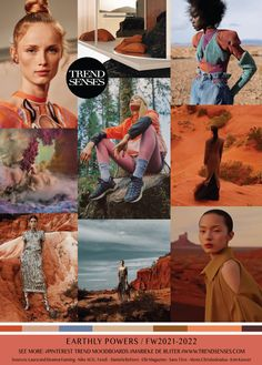 Earthly Powers - Natural earth tones reminiscent of the desert clashing with forest and storm tones Fashion Colours, Colorful Fashion, Scenic Photography, Night Photography, Landscape Photography, Future Trends, Fashion Forecasting, Color Stories, Pantone Color