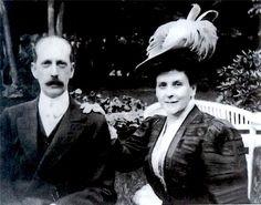 Княгиня Ольга Палей и великий князь Павел Александрович