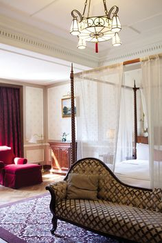 One of the Astor's period-style suites.