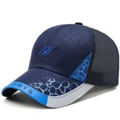 High-quality Men Women Ultra-thin Breathable Quick-drying Mesh Baseball Cap Outdoor Sports Casual Net Hat - NewChic Mobile.