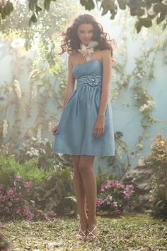 Disney's Fairy Tale Weddings by Alfred Angelo bridesmaid dress, Style 502 #bridesmaid #wedding