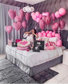 An informal guide to the most beautiful Valentine& Day of all time - Meine Geburtstagsparty - Birthday Goals, 18th Birthday Party, Birthday Party Decorations, Girl Birthday, Birthday Surprise Ideas, 18th Birthday Ideas For Girls, Birthday Surprises, Decoration Ideas For Birthday, Hotel Birthday Parties