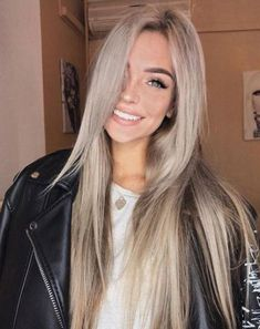 Amazing Blond Balayage Hair Colors For Long Hair In 2019 - Page 23 of 35 - Dazhimen Ombre Hair Color, Cool Hair Color, Hair Colors For Blue Eyes, Purple Ombre, Purple Hair, Pretty Hairstyles, Straight Hairstyles, Mermaid Hairstyles, Perfect Hairstyle