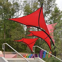 Tensile Shade Products, LLC is a producer of pre-engineered tensile sculpture products. Our line of tensile sculpture products include Sunbird, Sunbow, Sunami and Eclipse. Patio Sails, Tenda Camping, Alfresco Designs, Sun Shade, Shade Sails, Tensile Structures, Outdoor Shelters, Outdoor Shade, Gardens