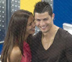 Cristiano Ronaldo and Irina Shaky