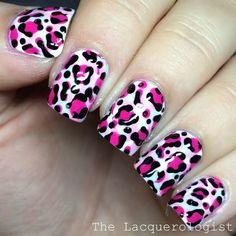 The Lacquerologist: Double Leopard Print inspired by U by Kotex & Kleenex Bonus Packs [TUTORIAL]