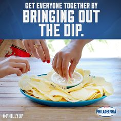 We know the best way to lure your friends to a social gathering. Bring out the dip, and not just any dip, creamy French Onion Philly Dip!
