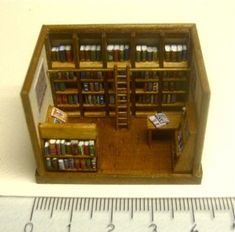 ••  •• Escala 144 Francesca Vernuccio Miniatures:  bookshop