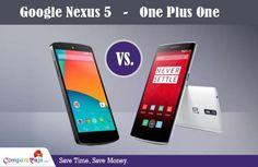 Google #Nexus5 Vs. #OnePlusOne, which will you go for?