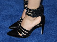 Victoria Justice (shoe detail) attends a celebration of the 57th annual GRAMMY Awards hosted by Delta Air Lines, the official airline of the GRAMMY Awards, with a private performance from Charli XCX on February 5, 2015 in West Hollywood, California.