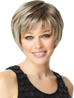 short to midlength haircuts for fine hair thats going grey Over 60 Hairstyles, Latest Short Hairstyles, Wedge Hairstyles, Haircuts For Fine Hair, Hairstyles Haircuts, Pixie Haircuts, Ladies Hairstyles, Stacked Bob Hairstyles, Beach Hairstyles