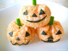 Halloween Onigiri