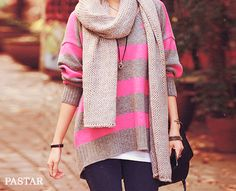 Cool style with my favorite color, pink!