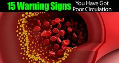 As we get older, we all start to worry more about our health. One thing that we don't consider very often is poor circulation. We found a great collection of 15 signs that you may have poor circulation. Have you been feeling fatigue, have cold limbs, or dark circles under your eyes? These may be...