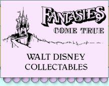 Fantasies Come True - Disney collectibles and memorabilia - Tim Burton's The Nightmare Before Christmas